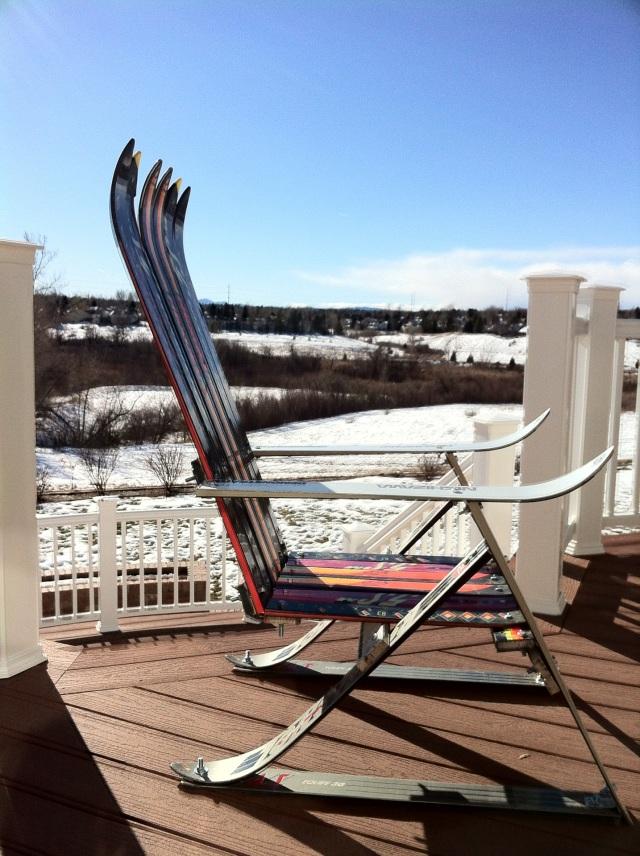 Andrew's New Rocky Mountain Ski Chair
