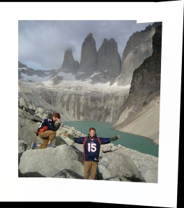 Tebowing In Patagonia