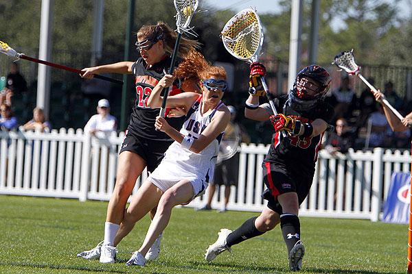 Caroline Cryer USA Women's Lacrosse vs. Maryland 2011
