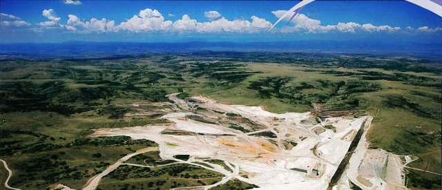 Reuter-Hess Reservoir Aerial View