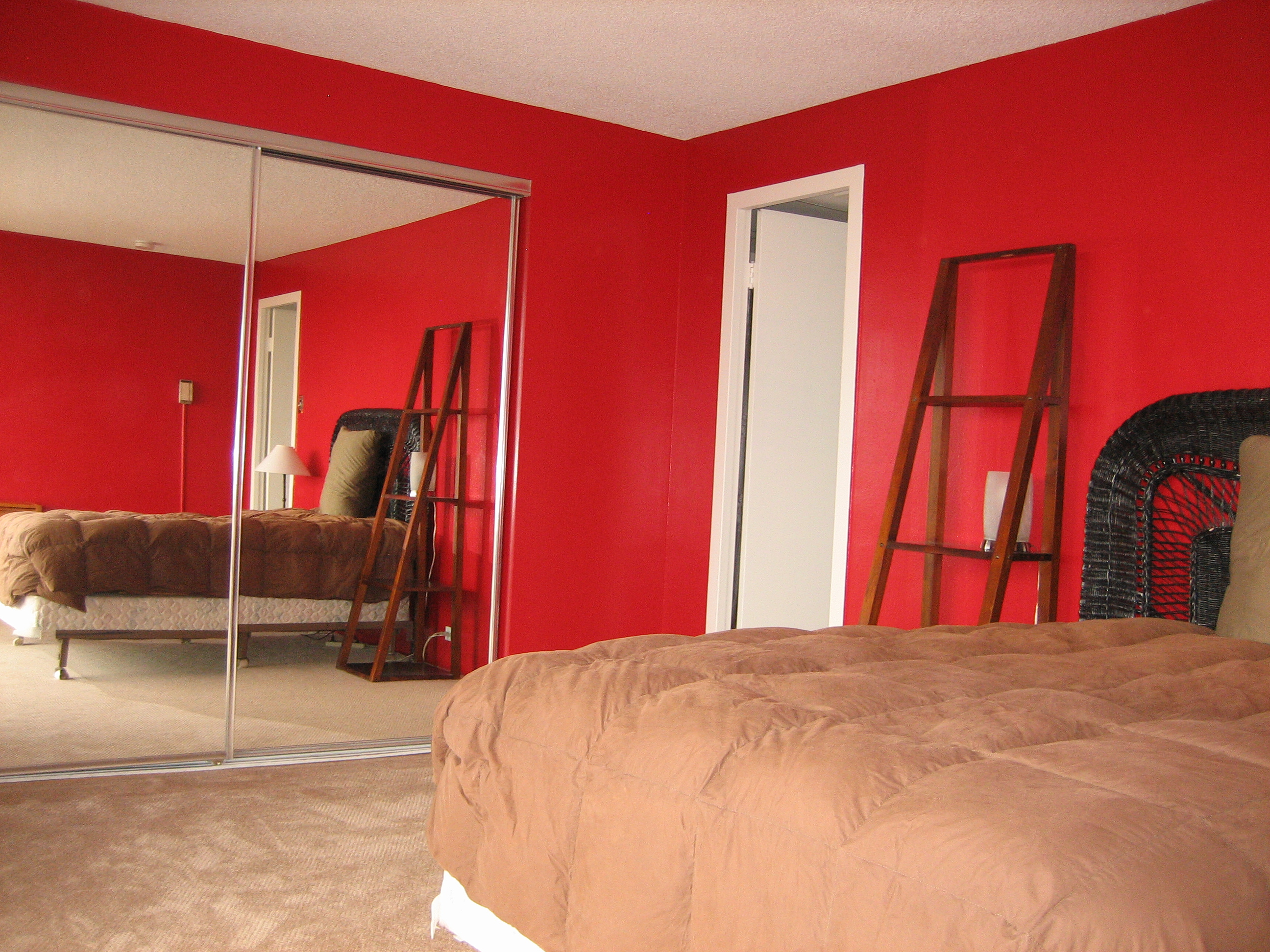 painting walls red how to pick it and how to get rid of