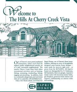 The Hills at Cherry Creek Vista - Esprit Homes Guide