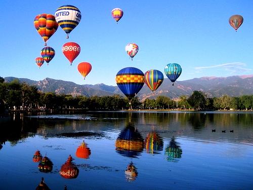 Chatfield State Park. Chatfield State Park Balloon