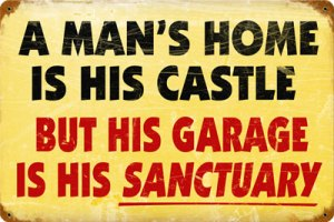 A Man's Home Is His Castle...