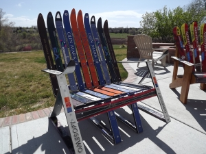 rocky mountain ski chairs from the slopes to your patio