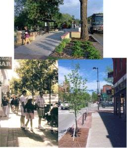 South Broadway Street Scene