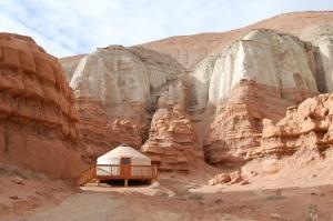 A Yurt in your backyard?