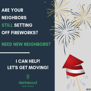 Neighbor Fireworks